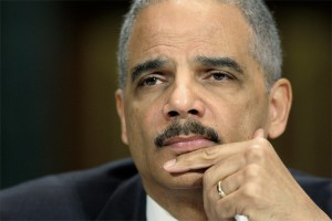 U.S. Attorney General Eric Holder political game