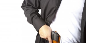 WOMAN FEARED HER EX, SO SHE APPLIED FOR A GUN PERMIT.